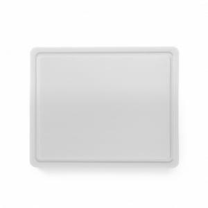 Planche à Découper HACCP - GN 1/2 - Blanc - 12 mm d'Epaisseur HENDI - 1