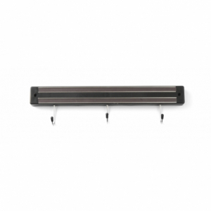 Support Magnétique pour Couteaux - 3 Crochets HENDI - 1