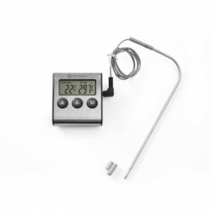 Thermomètre Minuteur pour Rôtir HENDI - 1