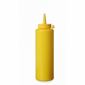 Flacon Distributeur Jaune - 0,2 L HENDI - 1