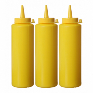 Flacon Distributeur Jaune - 0,2 L - Lot de 3 HENDI - 1