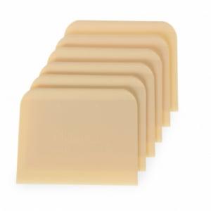 Racloir coupe-pâte rectangulaire - 6 pièces HENDI - 1