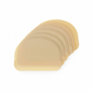 Racloir coupe-pâte semi rond - 6 pièces HENDI - 1