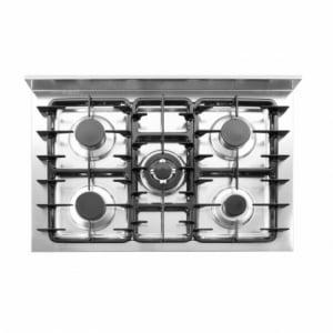 Table de cuisson à gaz - 5 feux HENDI - 1