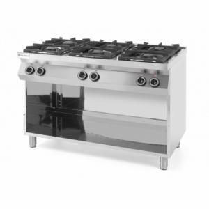 Cuisinière Kitchen Line - 6 feux HENDI - 1