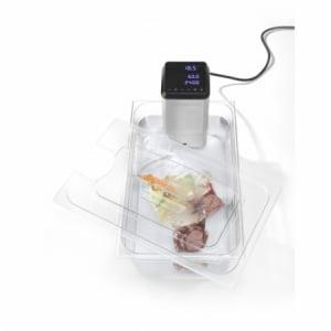 Couvercle gastronorme GN1/2 avec encoche pour thermoplongeur Ivide Plus HENDI - 1