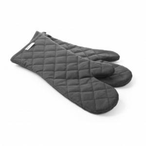 Moufle anti-chaleur en coton ignifuge - 2 pièces HENDI - 1