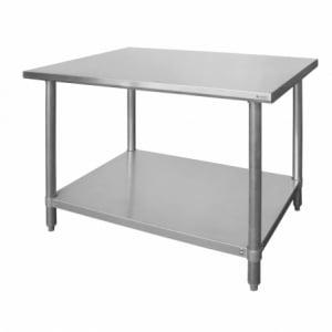 Table de Travail en Inox - L 1400 HENDI - 1