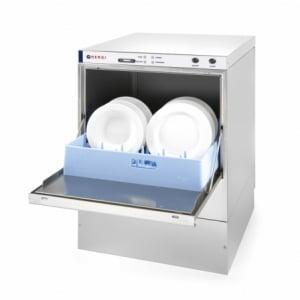 Lave-vaisselle K50 avec pompe de vidange et produit de lavage HENDI - 1