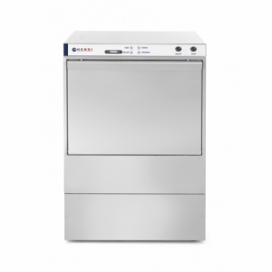 Lave-vaisselle K50 avec pompe doseur produit de lavage HENDI - 1