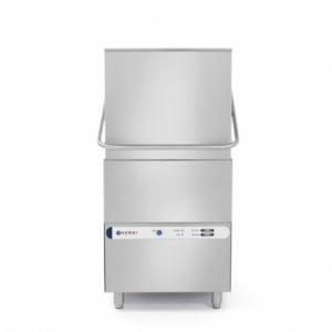 Lave-vaisselle à capot K1500 avec pompe doseur produit de lavage HENDI - 1