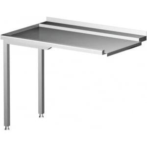 Table de décharge pour lave-vaisselle côté gauche HENDI - 1