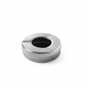 Cendrier avec couvercle ø90 - 3 pièces HENDI - 1