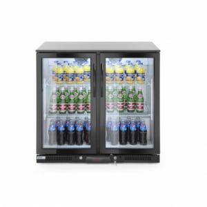 Arrière de bar réfrigèré double portes 180L HENDI - 1