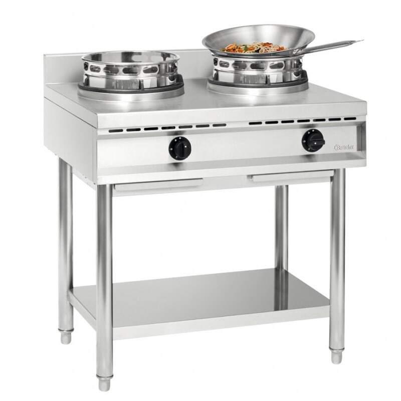 Cuisinière à Wok - 2 Brûleurs