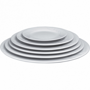 Assiette plate en porcelaine ø200 Karizma HENDI - 3