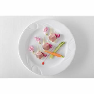 Assiette plate en porcelaine ø200 Karizma HENDI - 2