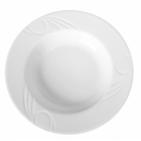 Assiette creuse en porcelaine ø300 Karizma HENDI - 1
