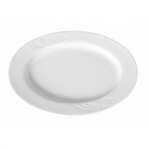 Plat ovale en porcelaine 290x200 Karizma HENDI - 1