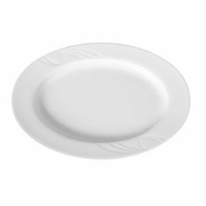 Plat ovale en porcelaine 340x235 Karizma HENDI - 1