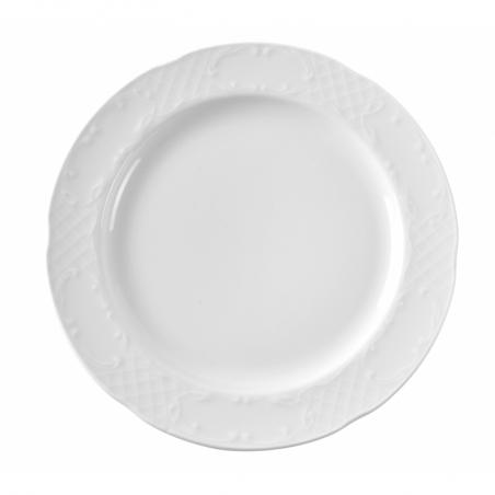 Assiette plate en porcelaine ø160 Flora HENDI - 1