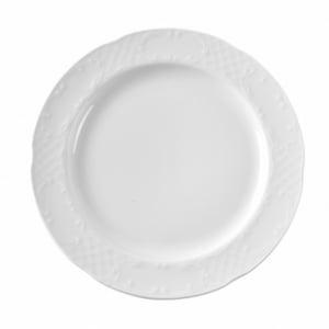 Assiette plate en porcelaine ø255 Flora HENDI - 1