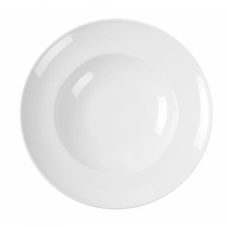 Assiette à pâtes en porcelaine ø260 Delta HENDI - 1