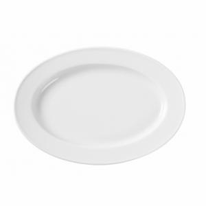 Plat ovale en porcelaine 290x200 Delta HENDI - 1