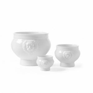 Bol à Soupe Blanc en Porcelaine - 0,125 L HENDI - 1
