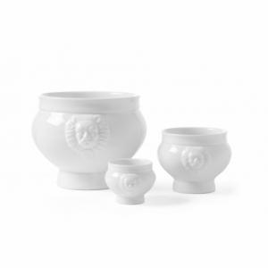 Bol à Soupe Blanc en Porcelaine - 0,5 L HENDI - 1