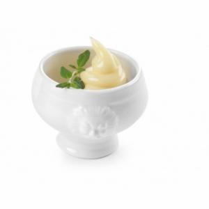 Bol à Soupe Blanc en Porcelaine - 0,05 L HENDI - 1