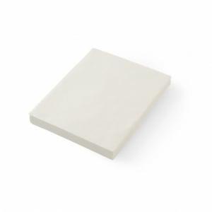 Papier sulfurisé neutre 306x305 - 500 pièces HENDI - 2
