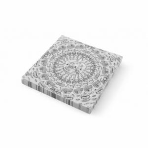 Papier sulfurisé motif chaos de cuisine 258X425 - 500 pièces HENDI - 1