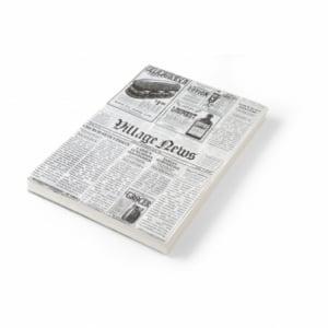 Papier sulfurisé impression journal 200x250 - 500 pièces HENDI - 1