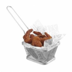 Paniers à frites miniatures empilables 105x90 HENDI - 1