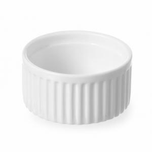 Ramequin rainuré en porcelaine ø120 HENDI - 1