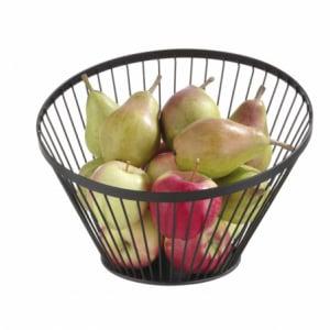 Panier à fruits oblique noir ø280 HENDI - 1