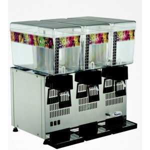 Distributeur de Boissons Réfrigérées - 3x12 Litres Santos - 1