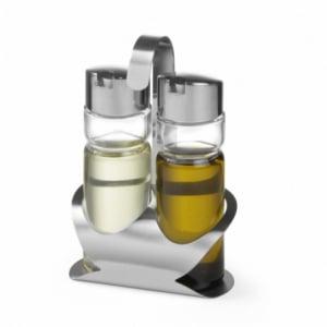 Ménagère huile et vinaigre HENDI - 1