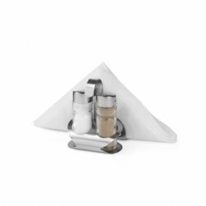 Ménagère sel, poivre et porte serviettes HENDI - 1
