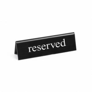 Chevalet de Table Réservé HENDI - 1