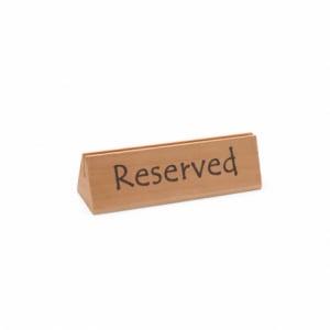 Chevalet de table réservé en bois HENDI - 1