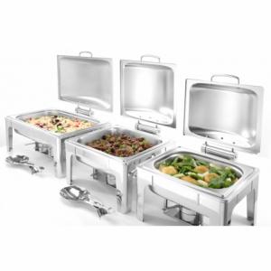 Chafing Dish GN 1/2 Finition Satinée Profi Line HENDI - 2