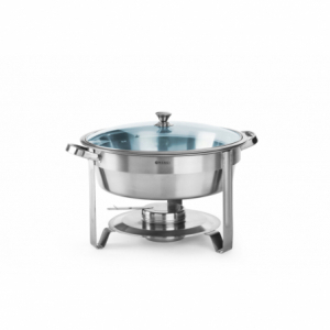 Chafing Dish Rond 3,5 L Kitchen Line HENDI - 1