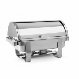 Rolltop-Chafing dish Gastronorme 1/1 acier inoxydable 18/0 HENDI - 1