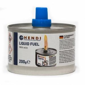 Combustible Liquide avec Mèche Hendi 4h - 6 pièces HENDI - 1