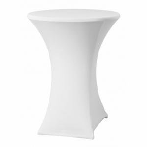 Housse pour Table Haute - Blanc - ø 850 mm HENDI - 1