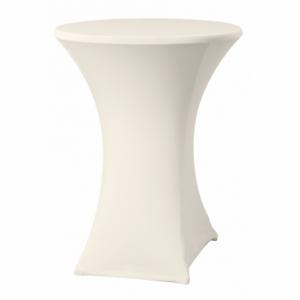 Housse pour Table Haute - Crème - ø 850 mm HENDI - 1