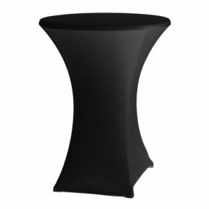 Housse pour Table Haute - Noir - ø 850 mm HENDI - 1
