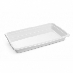 Bac Gastronorme en Porcelaine - GN 1/1 HENDI - 1